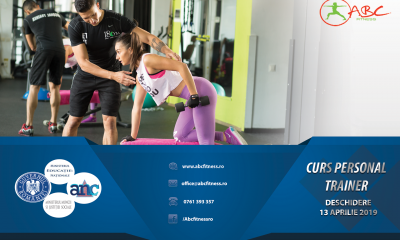 curs antrenor personal - personal trainer