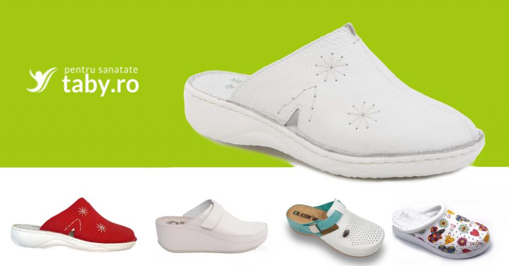 papuci și saboți medicali