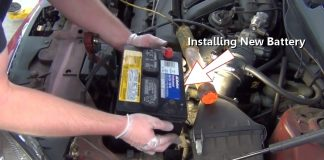 inlocuitea bateriei auto